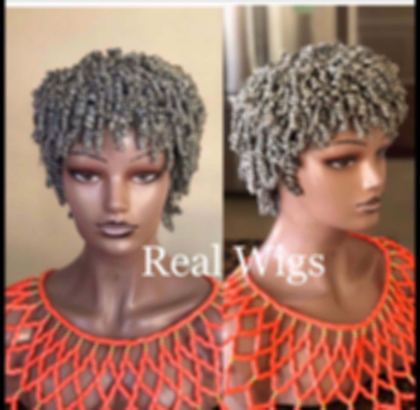 2021 New Lace Front Wigs Womens Short Grey Curly Wigs Blue Bob Cut Wig 50 Shades Of Grey Hair