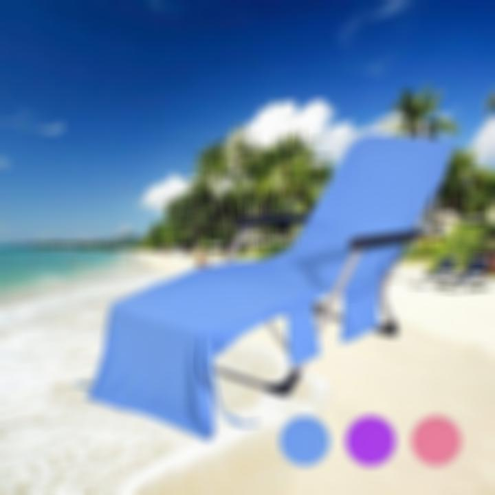 【Hot Sale Today! Up to 55% discount!】Lounger Beach Towel-Buy 2 Free Shipping