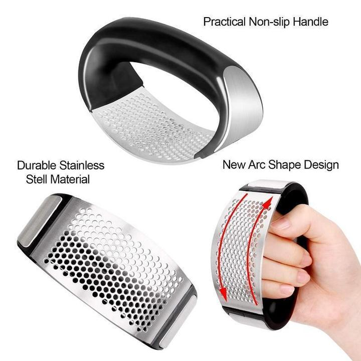 CHEF'S RECOMMENDED-Stainless Steel Garlic Press
