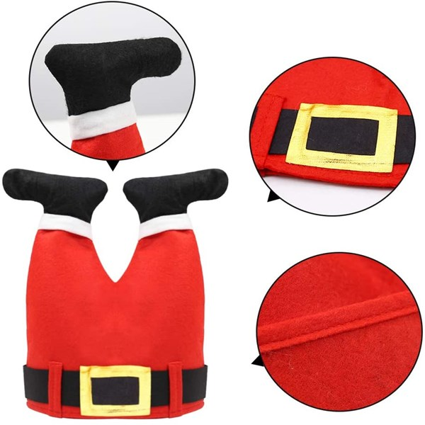Funny Santa Pants Hat