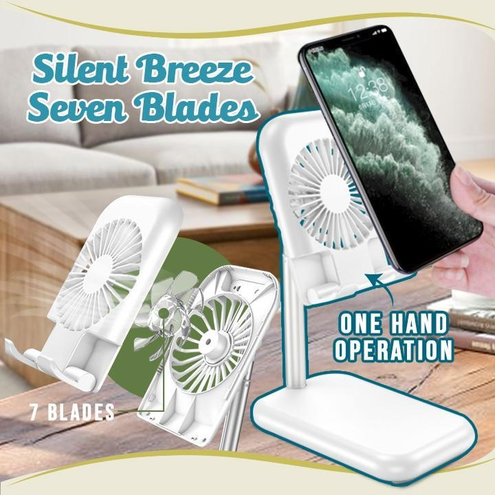 💥Spring Hot Sale 50% OFF💥 USB Cooling Fan Phone Stand