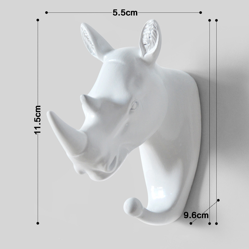 [49% OFF] Art Animal Head Wall Hook - Buy More Save More!
