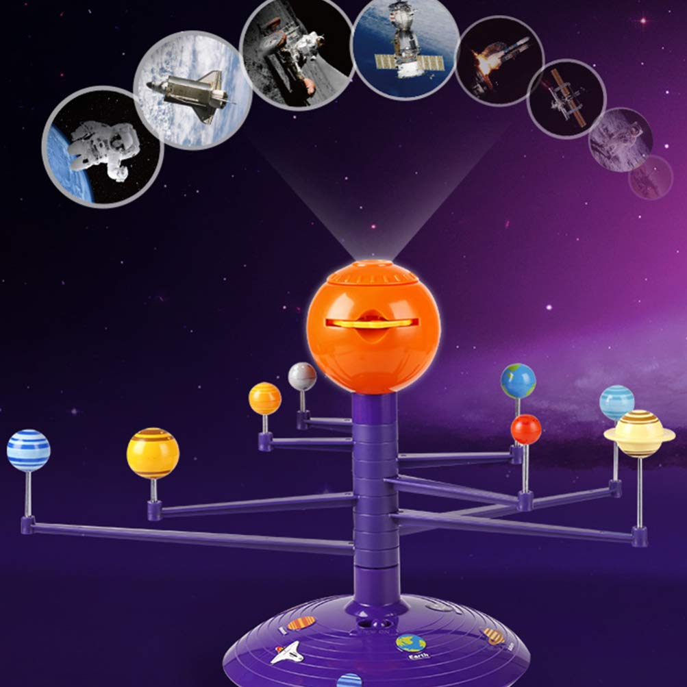 Solar system model voice projector