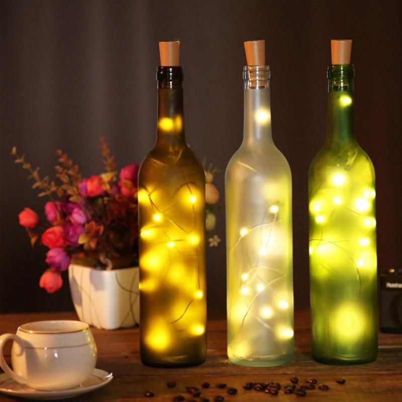 (Buy 1 and get 2) creative firefly LED bottle light
