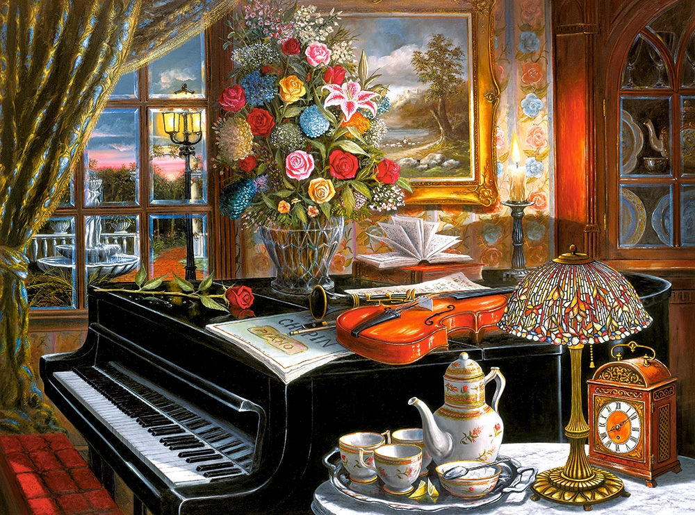 Leisurely afternoon tea 500/1000pcs Puzzle for Adults