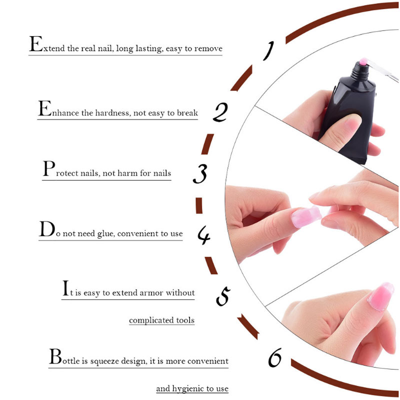 70%OFF TODAY--MYSWEETY™ All in 1 Never Fade Extension Nail Gel Kit