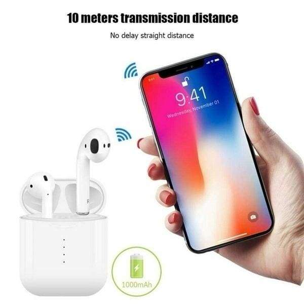 Hot TWS Wireless Bluetooth 5.0 Touch Earphone Earbuds with Charging Box Mic