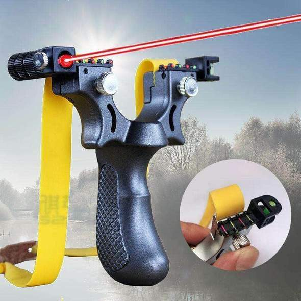 【Shopping Festival Sale⚡49.9% OFF】Laser Guided Slingshot