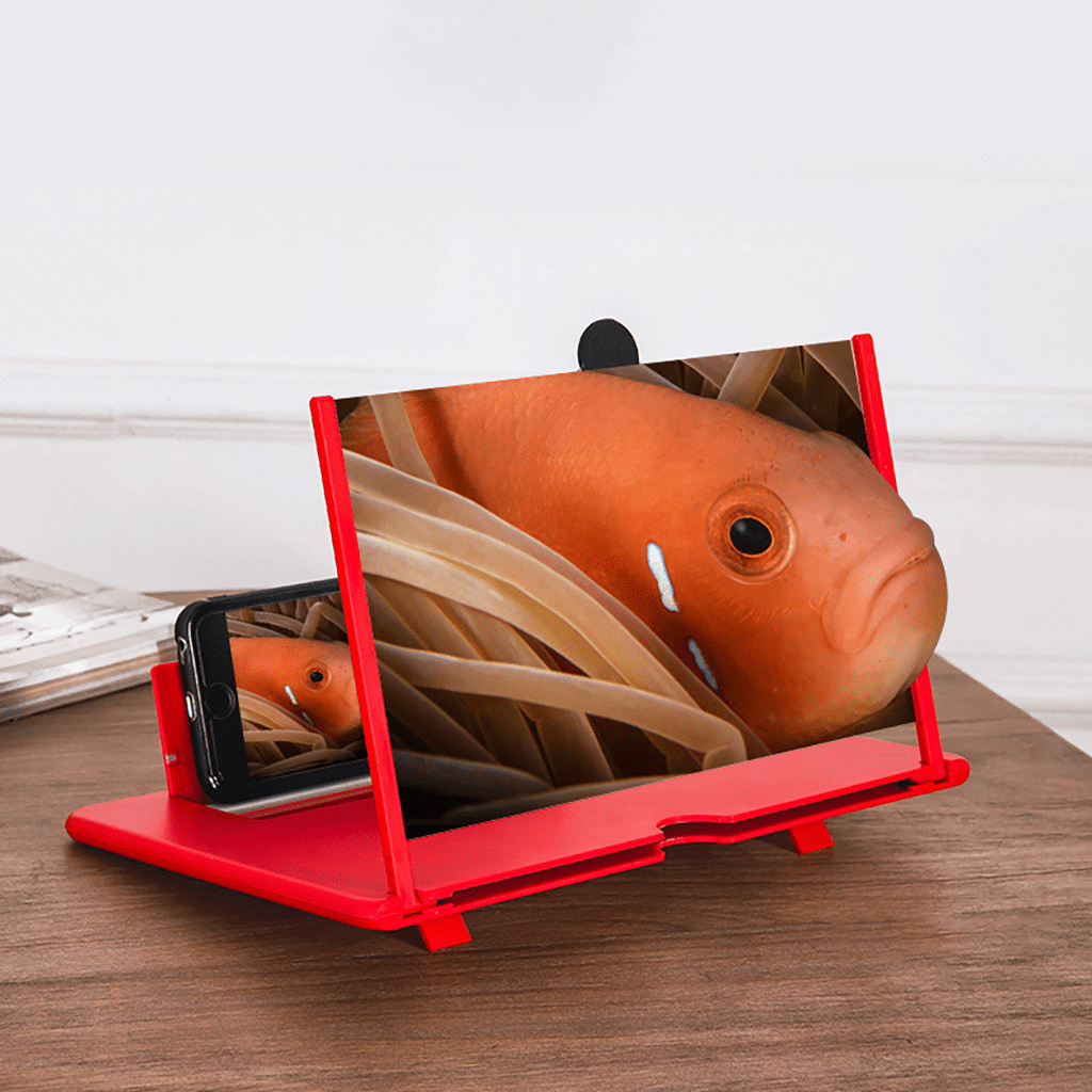 【Last Day Promotion-50% OFF-】2020 HD Foldable Phone Magnifier 12