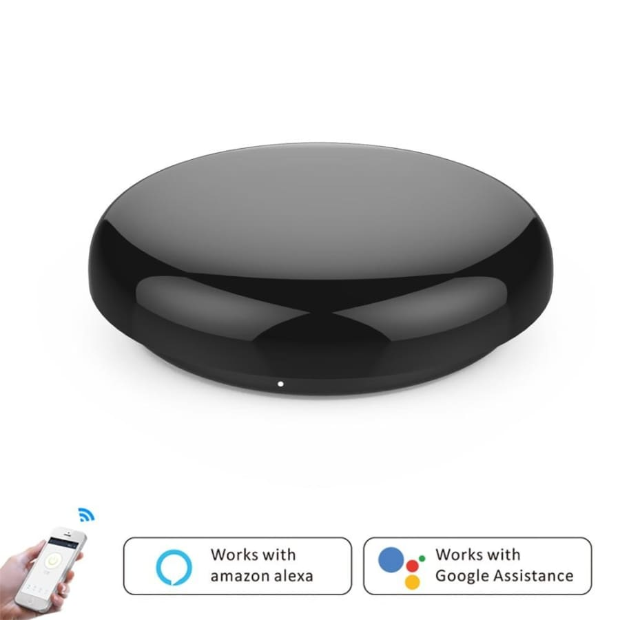 WiFi Smart IR Blaster Intelligent Remote Controller Smart Life Tuya Control Air conditioners TVs Fans DVDs STBs Works withAlexa Google Assistant