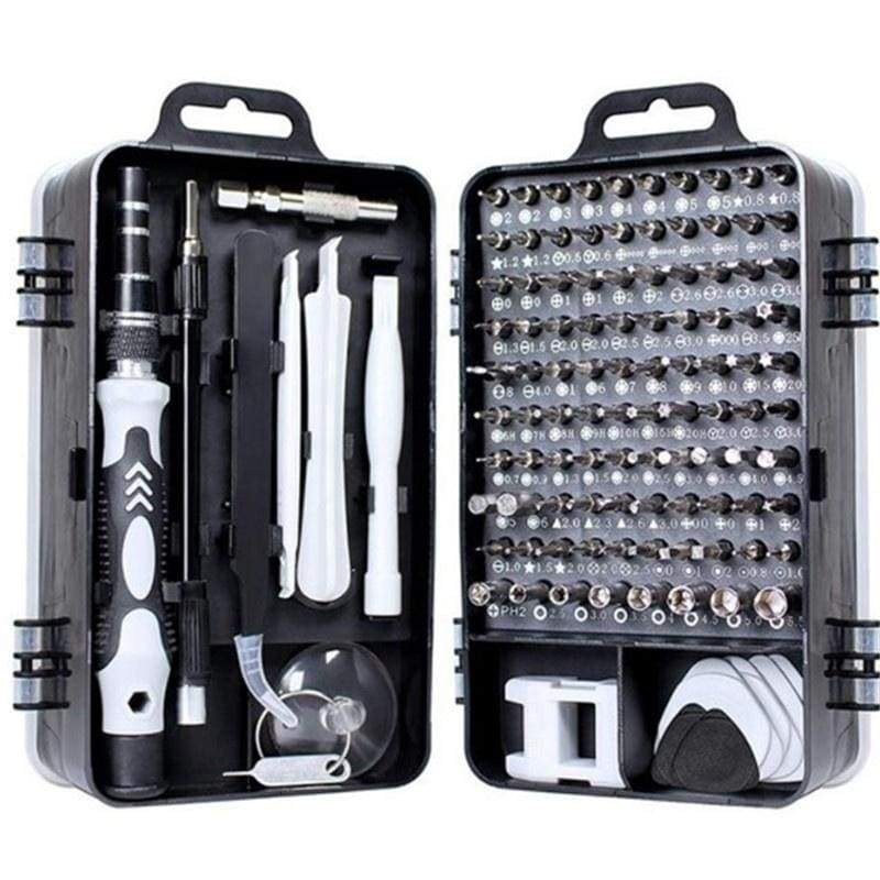 Screwdriver Set,115 in 1 Computer Repair Kit Electronic Tool kit Mini Precision Screwdriver Set with Case for Phone,Laptop,Jewelers