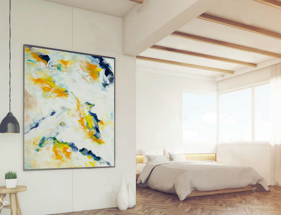 Original Handpainted Abstract Wall Art Made to order,Contemporary Painting, Modern Abstract Home Decor, Extra Large Abstract, XXXL XLLAS021