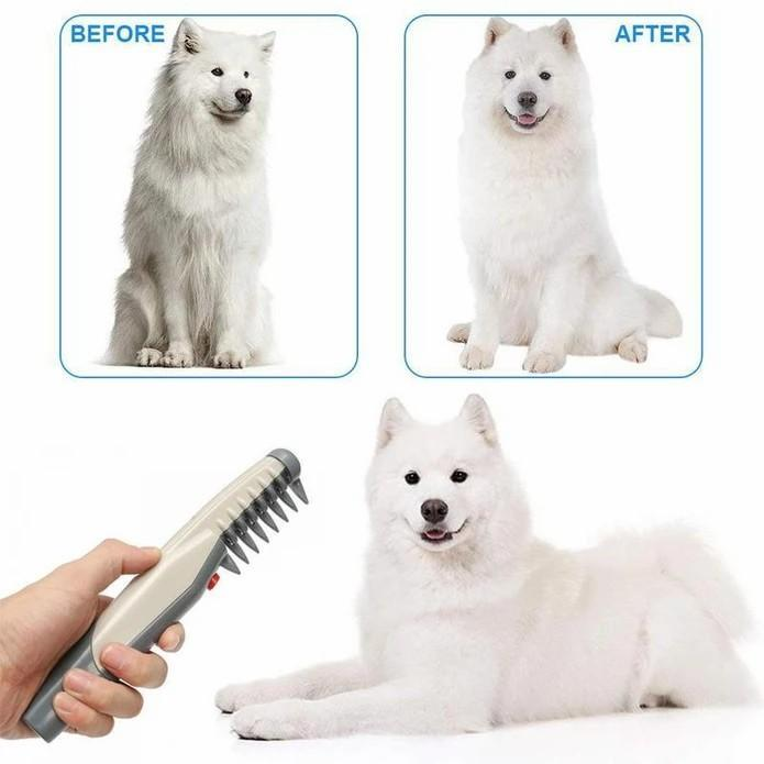 Electric Pet Grooming Comb | Pain-Free Trimmer