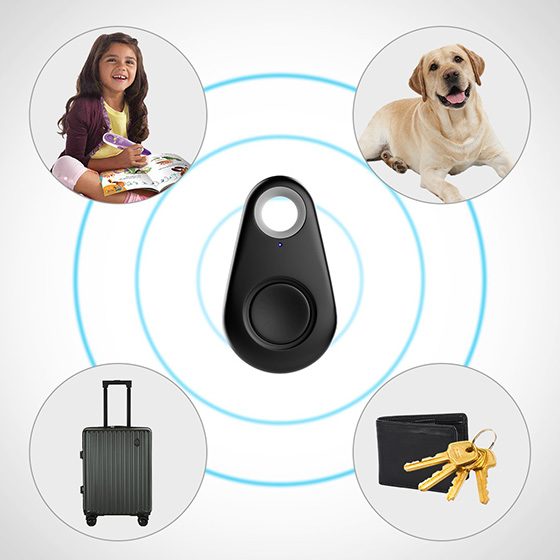 Bluetooth Anti-Lost/Theft Device With Bluetooth Selfie Function