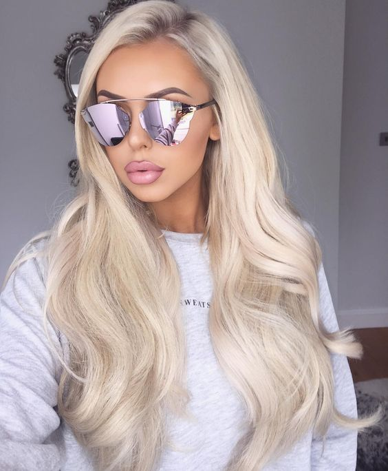 2020 Fashion Blonde Wigs For White Women Blonde Highlights Lace Wig Blonde Curly Bob Large Blonde Wig Champagne Pink Hair Bleach Blond Hair Lace Frontal Wigs