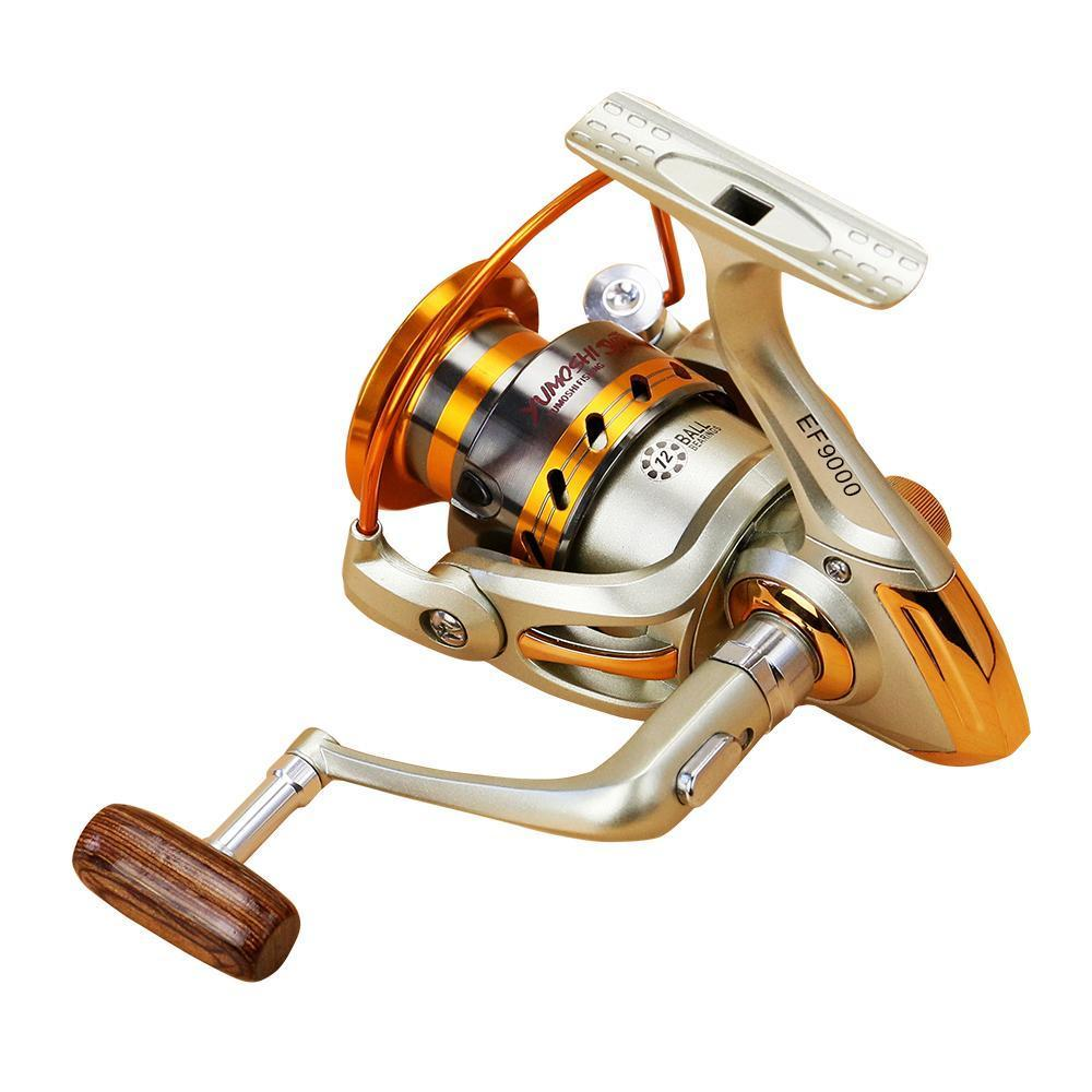 Fishing Reel Left/Right Collapsible Handle Fishing Spinning Reel