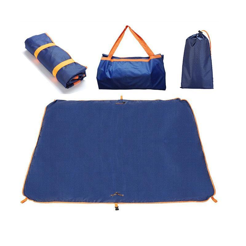Outdoors Packable Waterproof Sandproof Picnic Mat Travel Tote