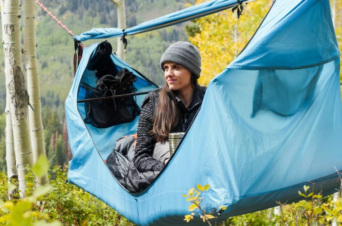 All-in-one Hammock Tent (🔥In Stock Free Send An Air Mattress And Free Shipping!)