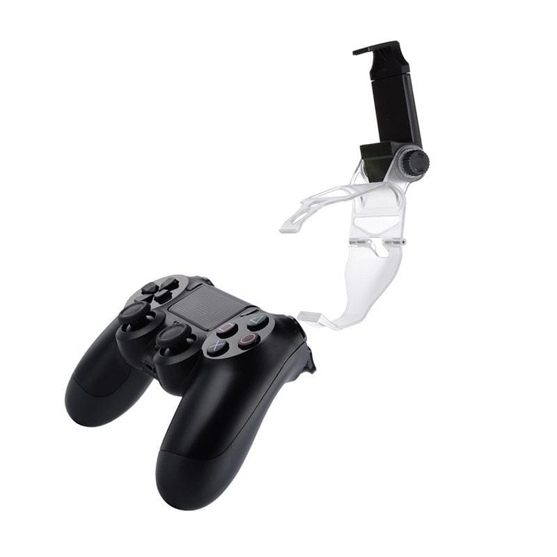 Designed for gaming fans P4 series-PS4 Slim Pro Controller Android Phone Clip, 180 Degree Gaming Holder Mount Stand Bracket for Playstation 4 Slim Pro Dualshock Console - 6 inch Samsung Galaxy S8 Plus S7 S6 Edge Plus Note 8 5