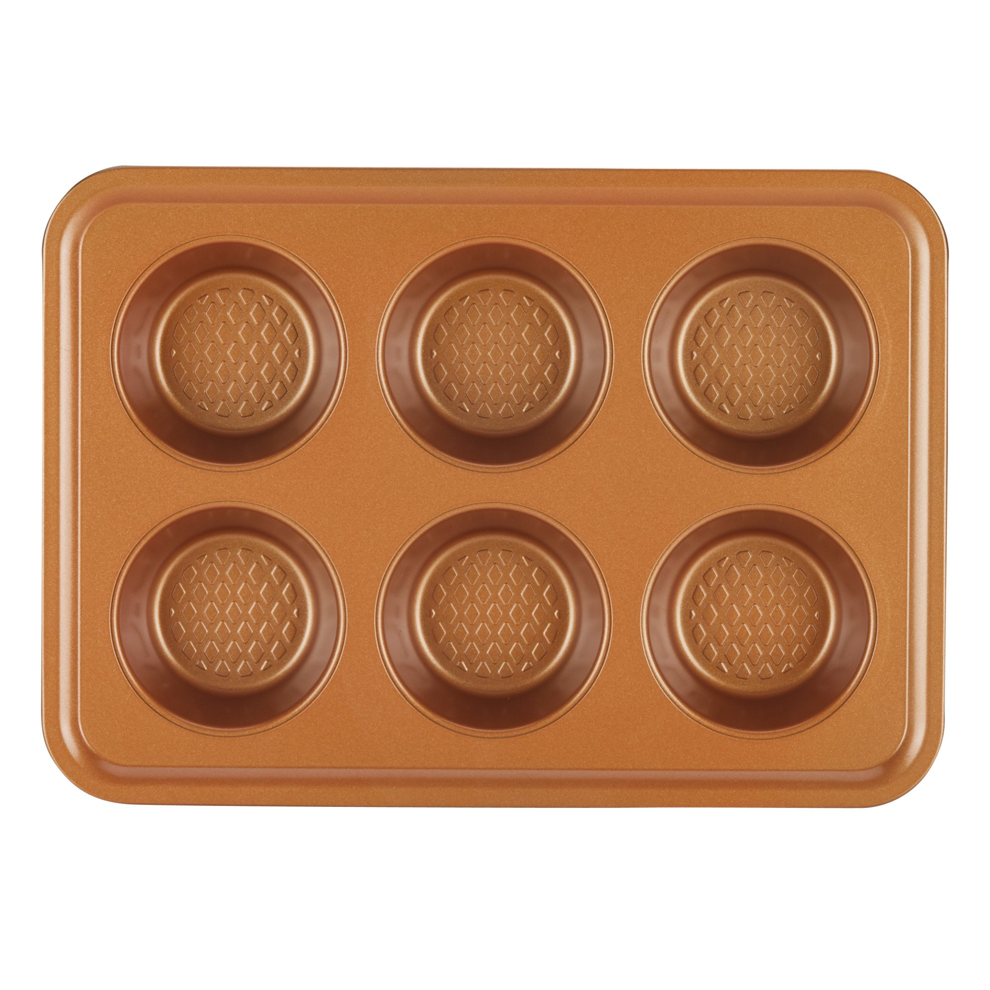 Toaster Oven Baking Set, Copper, 4-Piece-Bakeware Sets 3.24