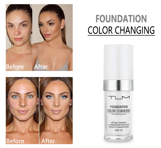 🎁FREE GIFT🎁 TLM™ Color Changing Perfection Foundation - Suitable For All Skin Tones
