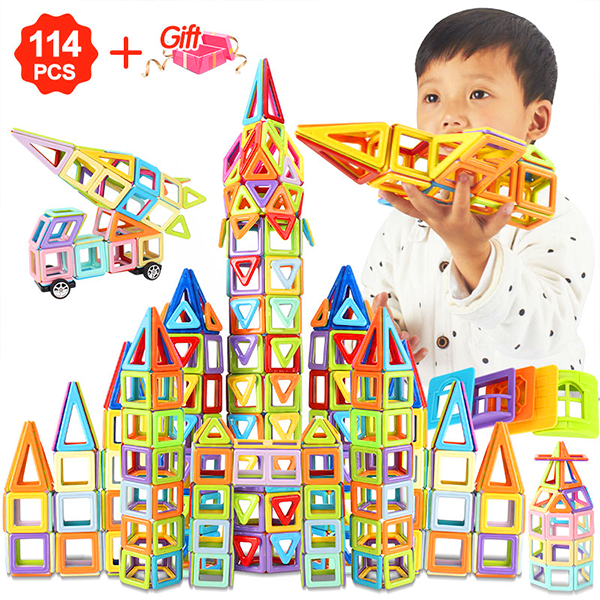 💕Early Halloween Sale💕 -Magnetic Building Blocks Set-50% OFF