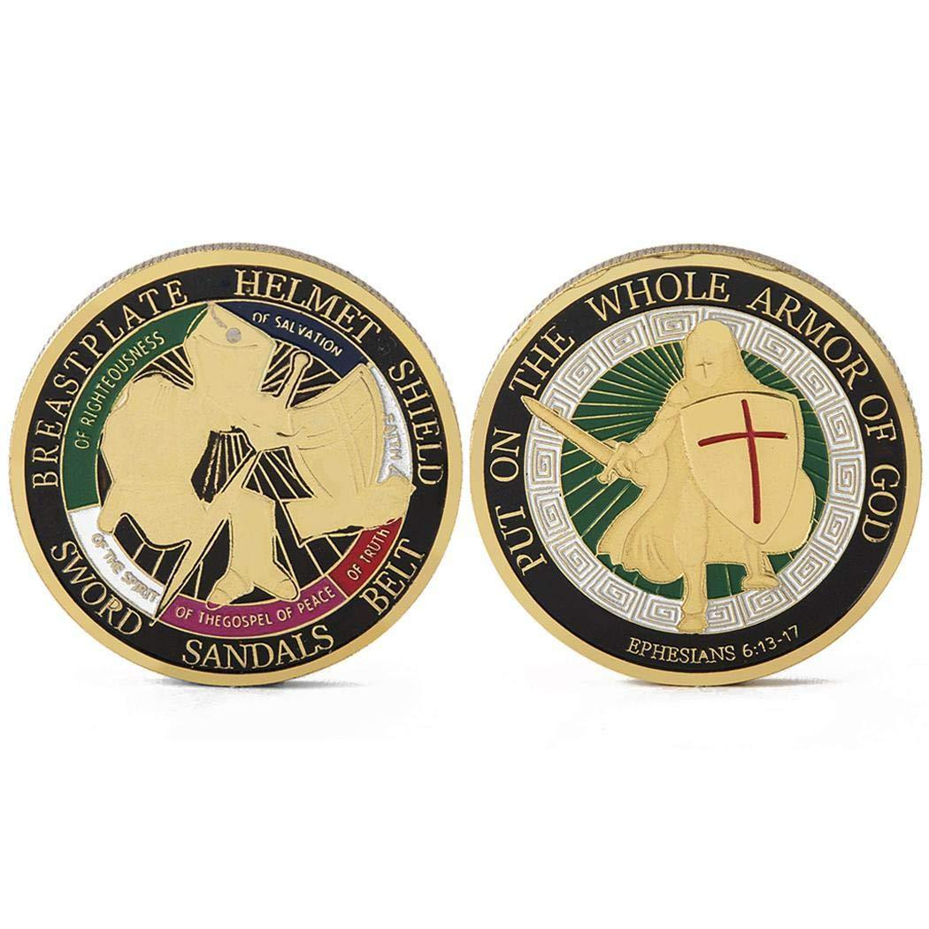 The Whole Armor of God Coin