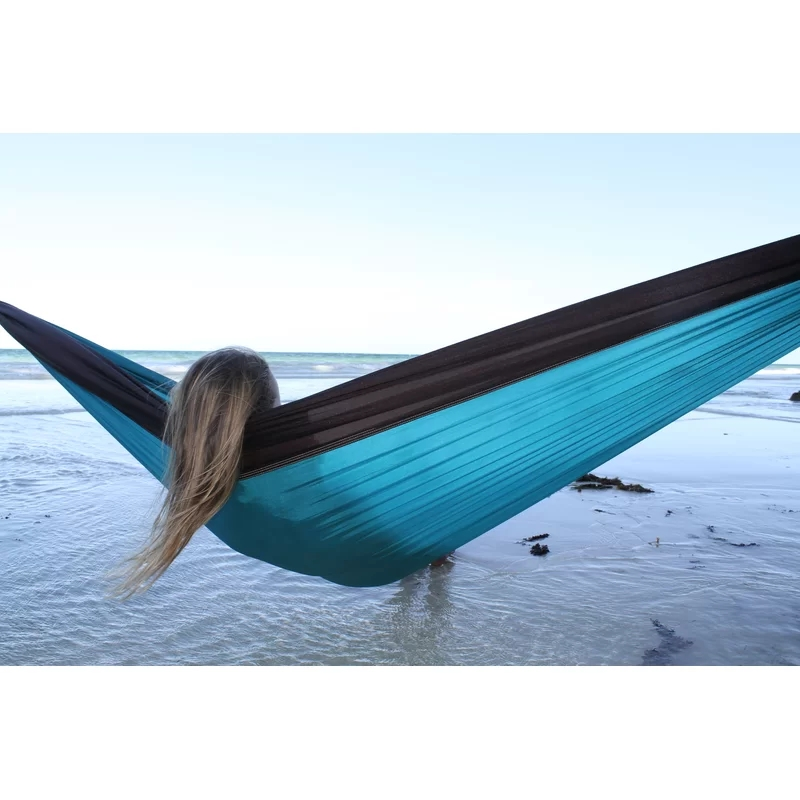 AHOME7 Portable Travel Camping Hammock Double with Tree Straps