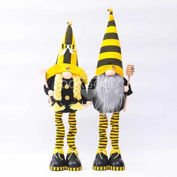 🐰💐 Plush Bee Gnome Family For Holiday Gift And Home Decoration 🐰💐