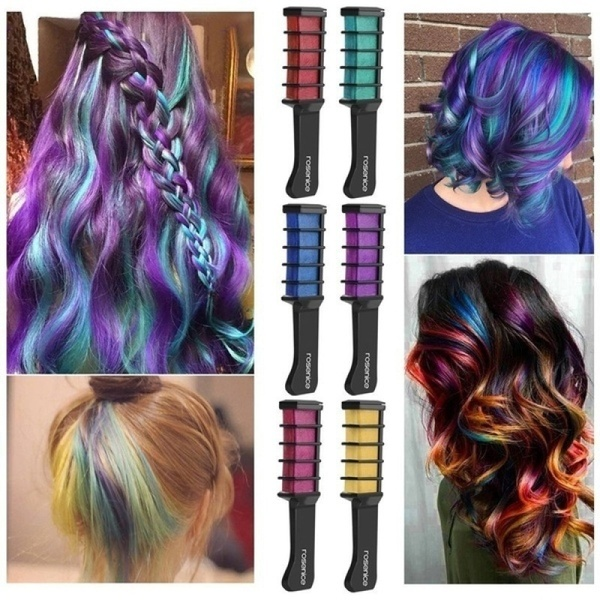 Beautifying Temporary Hair Dye Comb
