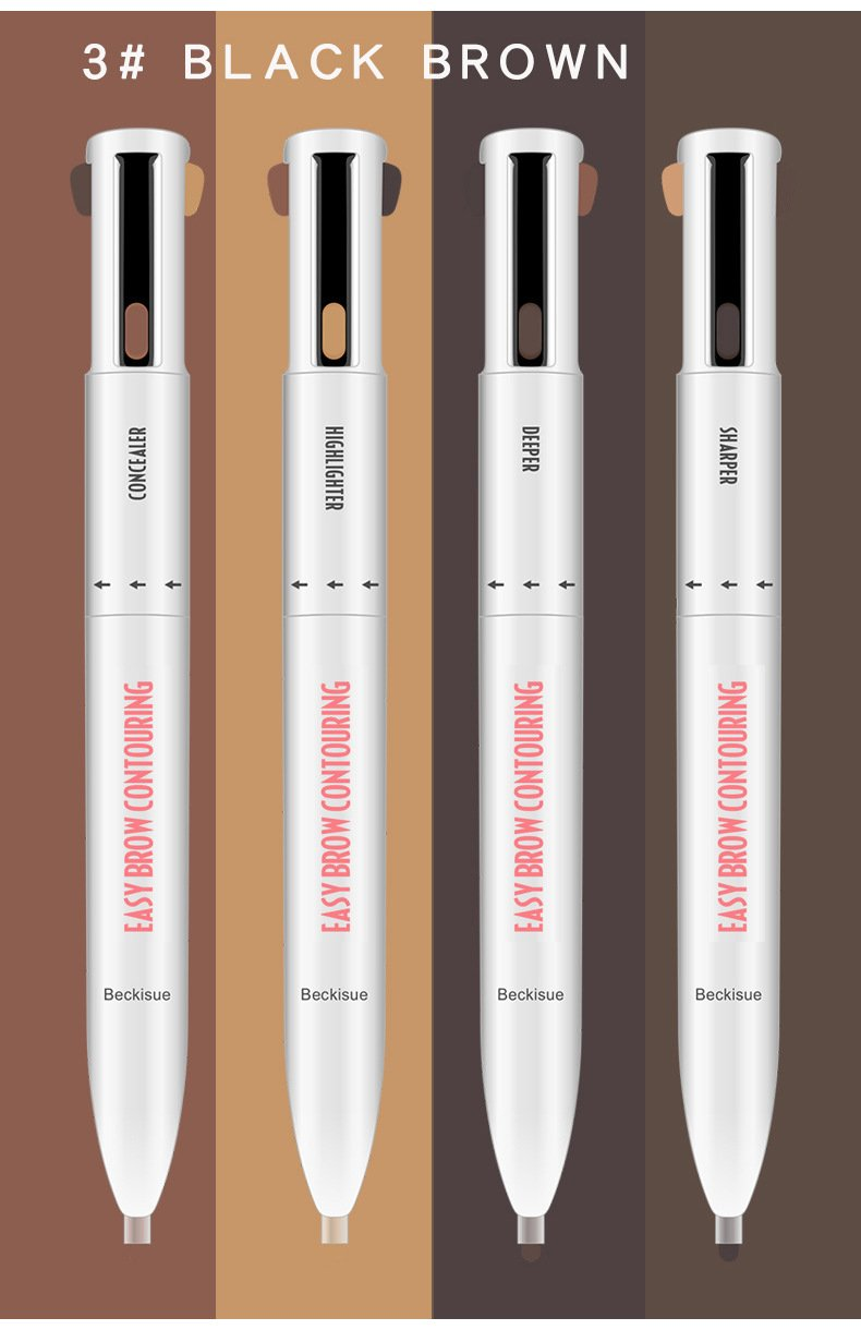 (New Products Limited Time Sale)4-in-1 Brow Contour & Highlight Pen
