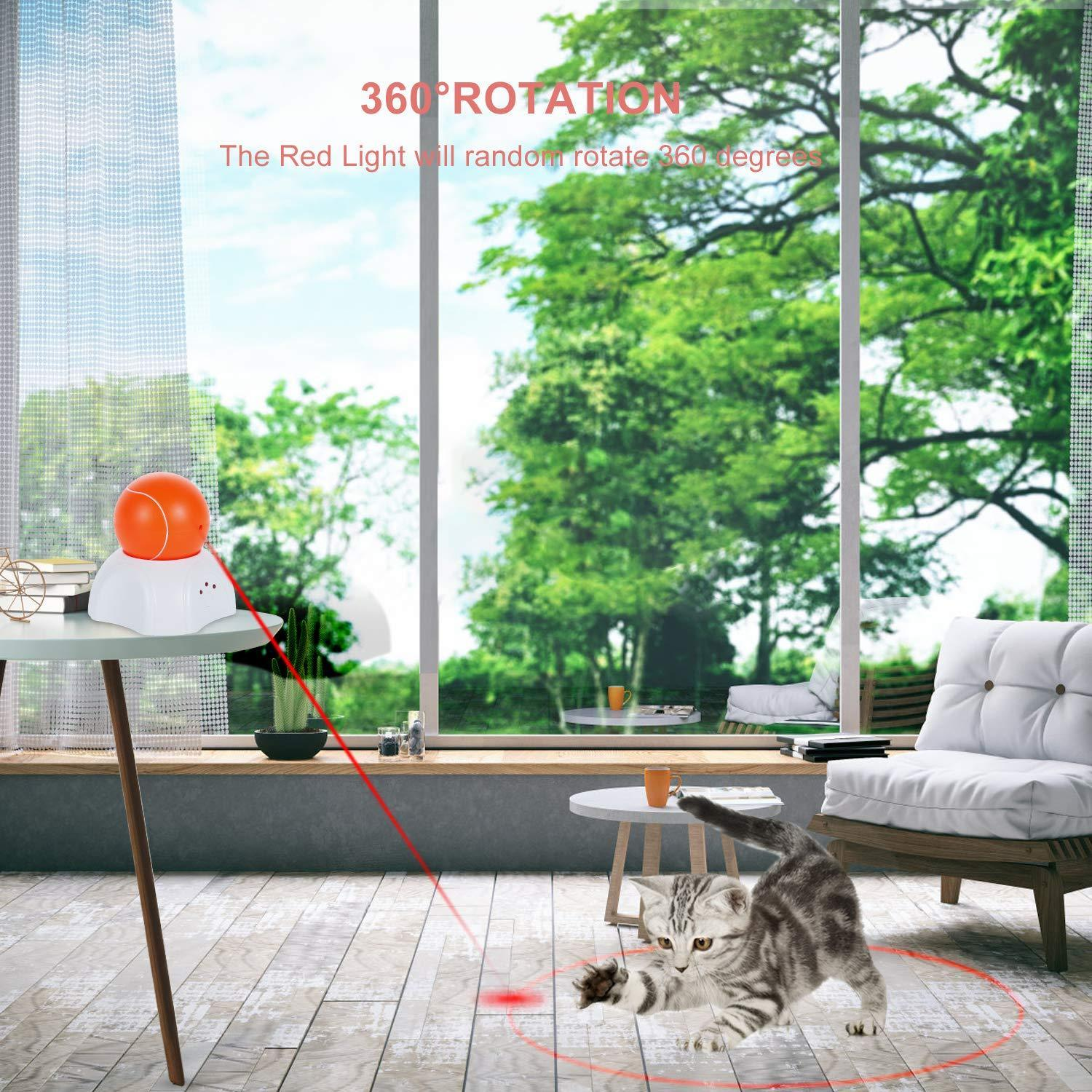 Laser LED Cat Toy Electric Ball