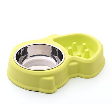 Rodents Dogs Rabbits Feeders / Food Storage 3 L Plastic Waterproof Portable Outdoor Pet Friendly Solid Colored Blue Pink Bowls & Feeding