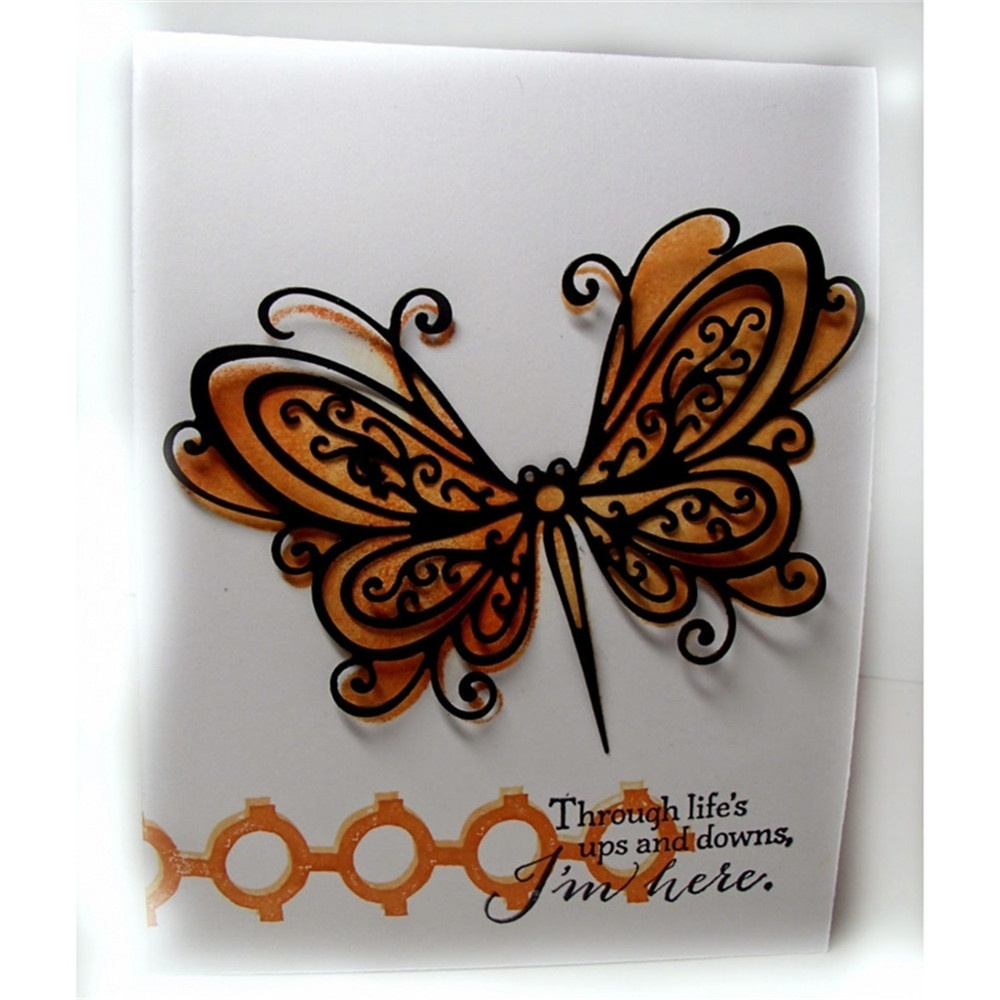 Stunning Butterfly Metal Cutting Dies for Scrapbooking New Dies for 2019 Die Cut Stitch Craft Die Stencil Troqueles