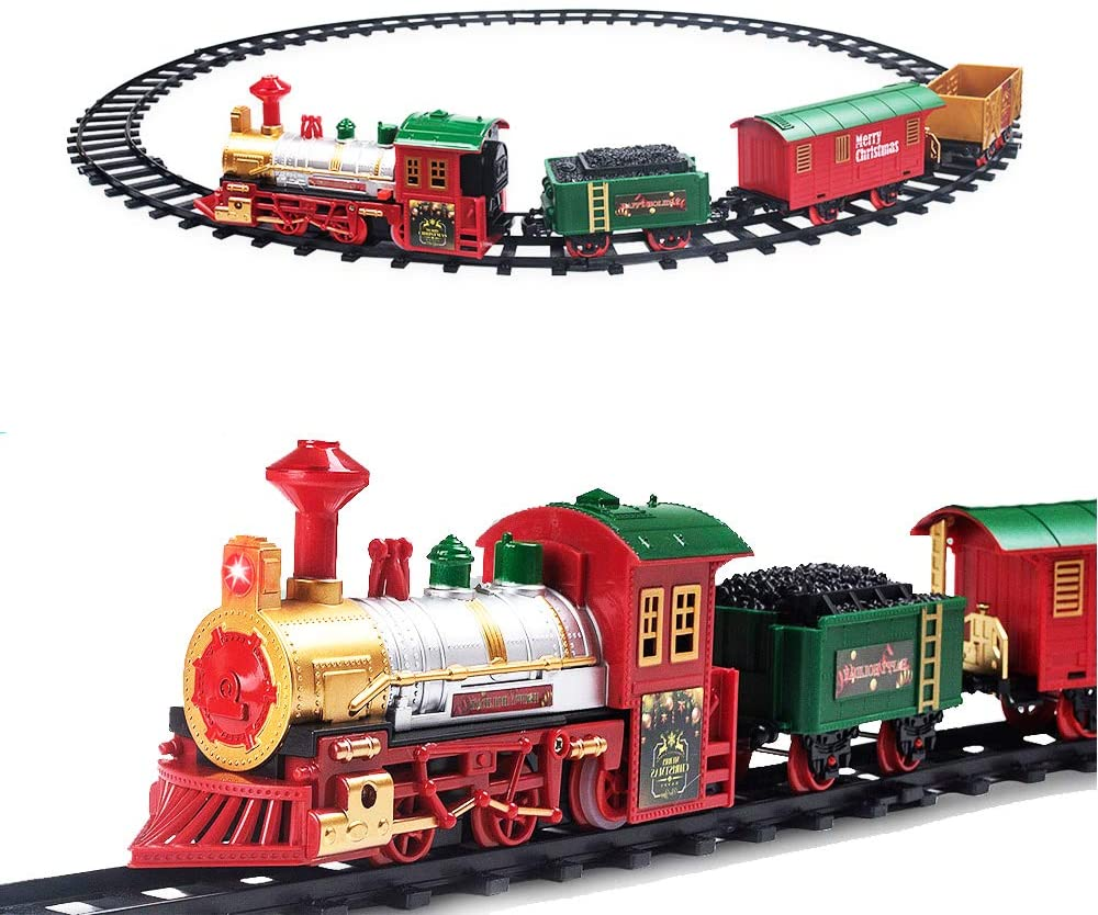 Christmas Train Toy Surround The Tree Electric Train(Buy 2 get 5% off)