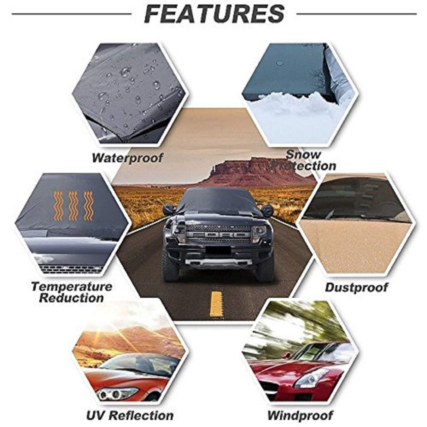THE ORIGINAL - FULL PROTECTION WINDSHIELD COVER