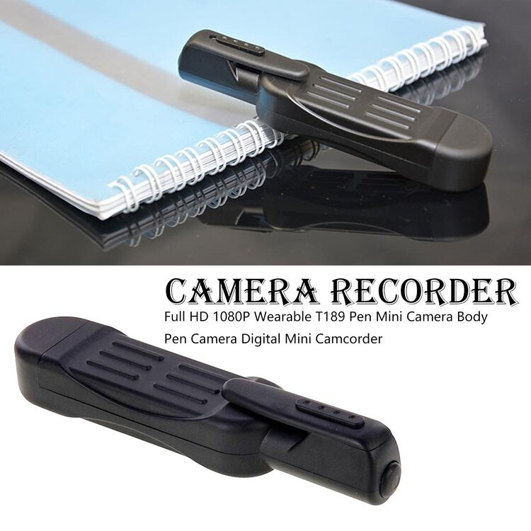 Pocket Pen Recorder™ | Record undetected photos and videos