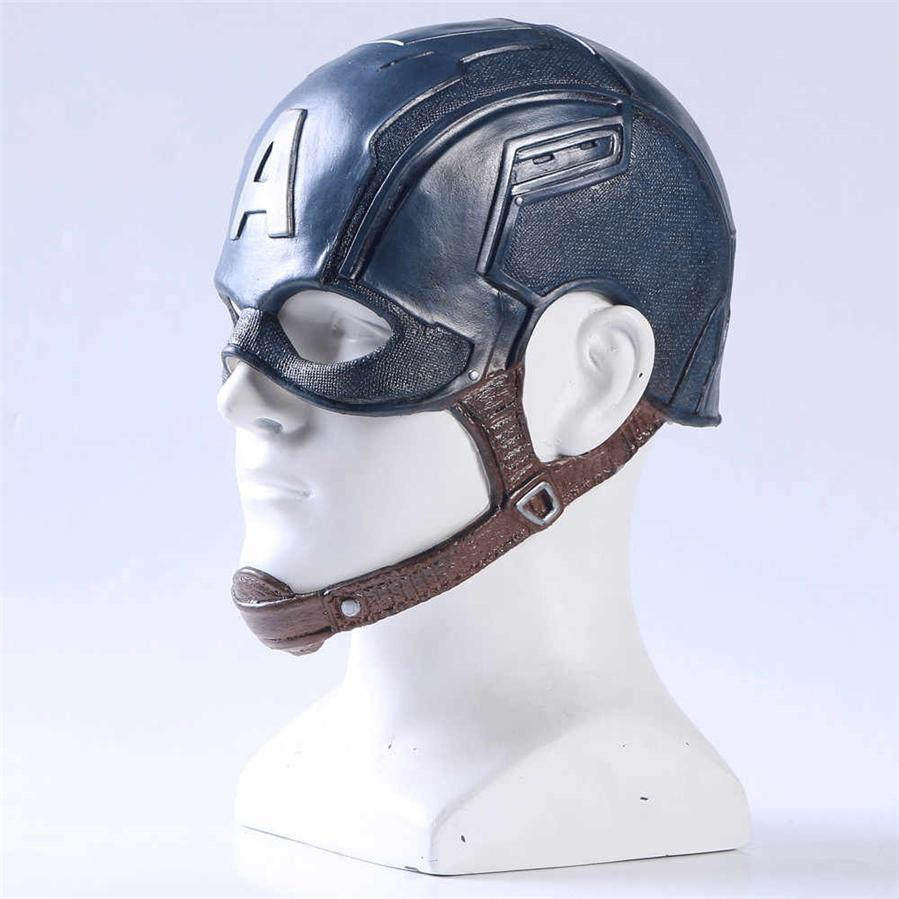 Adult Captain America Halloween Mask