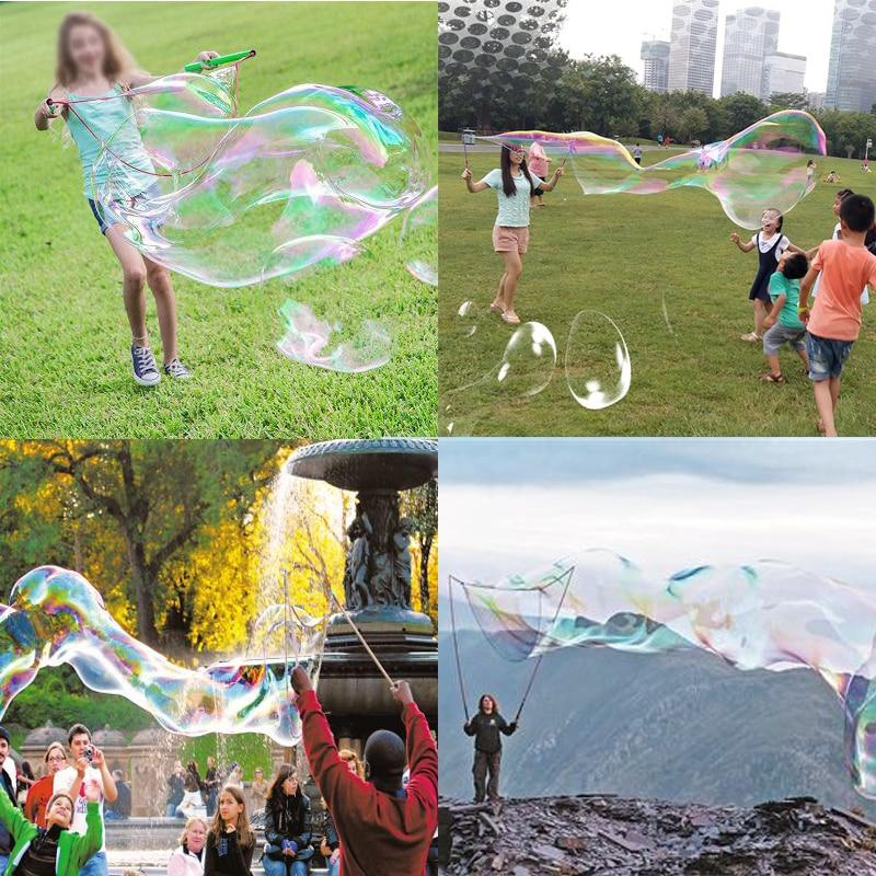 Stainless Steel Telescopic Bubble Wand Soap Bubble Toy