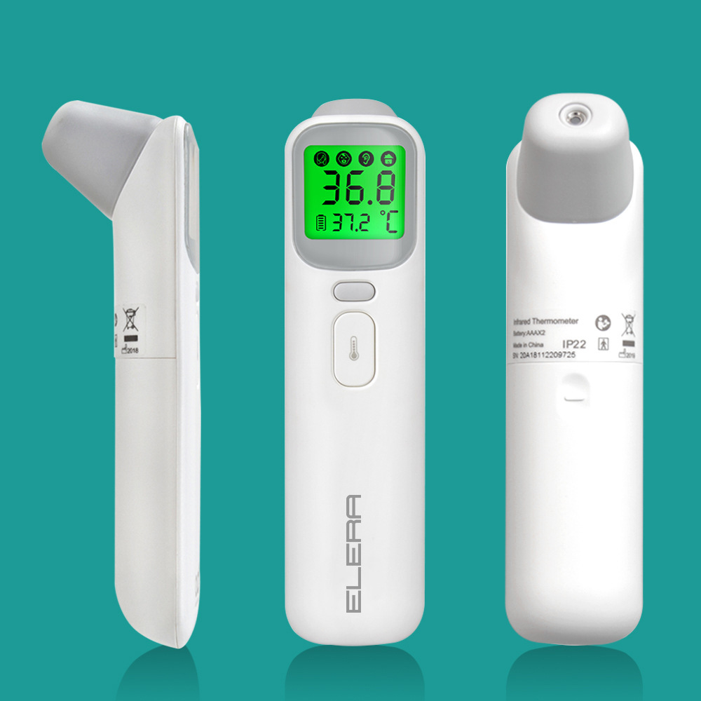 24-hour Fast Shipment in the US Non-contact Human Body Infrared Forehead Thermometer with LCD