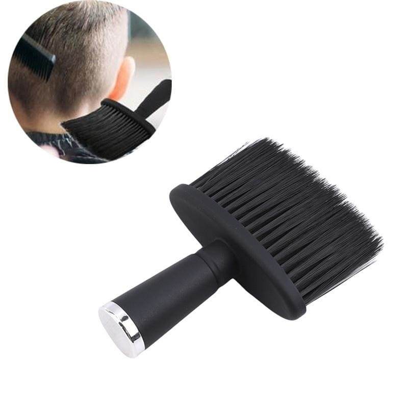 Soft Hair Brush Neck Duster Hairdressing Hair Cutting Cleaning Brush for Barber Salon