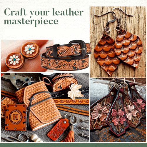 (50% OFF) Leather Craft Stamps