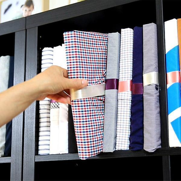 Space-saving Folding Storage Clothes Organizer