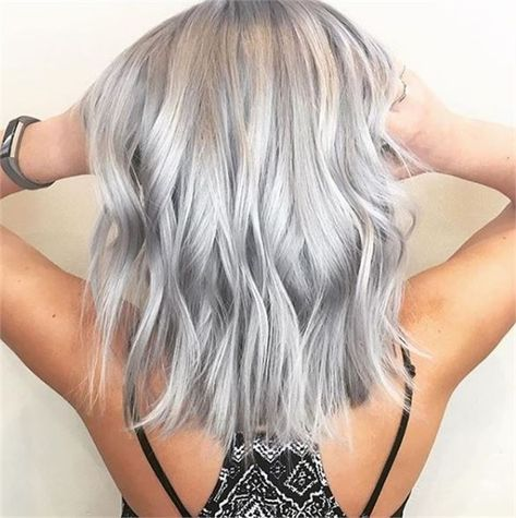 2020 Best Lace Front Wigs Funky Grey Hair Good Quality Wigs Online Light Blue Afro Wig Best Highlights For Black Hair