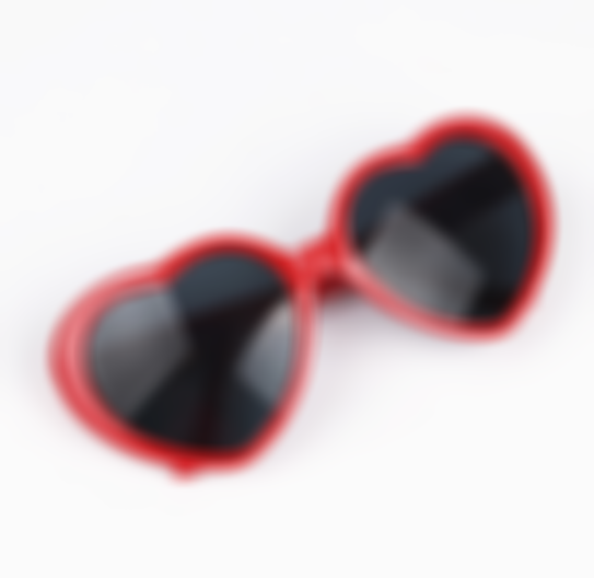 Arosetop Magic Love Heart Shaped Sunglasses for Women Fashion Eyeglasses Men Eyewears Diffraction Love Hearts Glasses