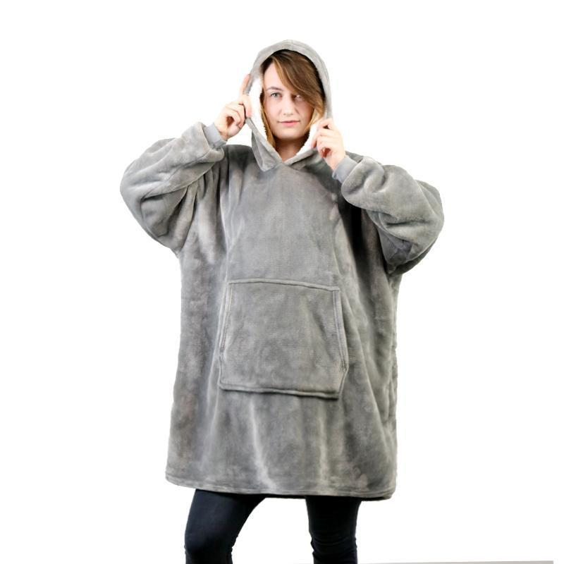 (60% off The top 50)OVERSIZED WARMING HOODIE