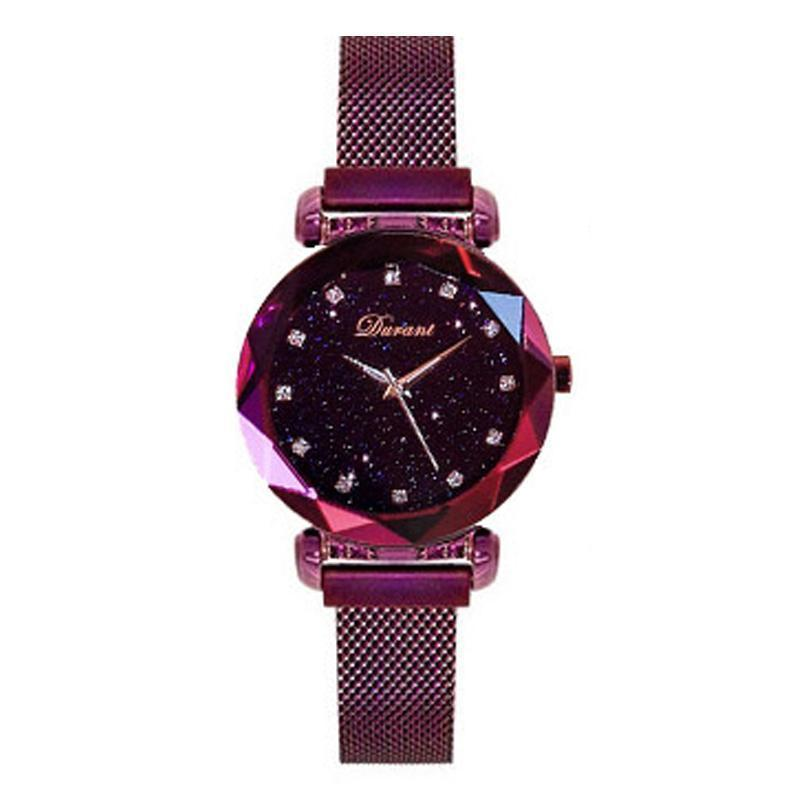 starry-sky dial magnetic-banded fashion watch