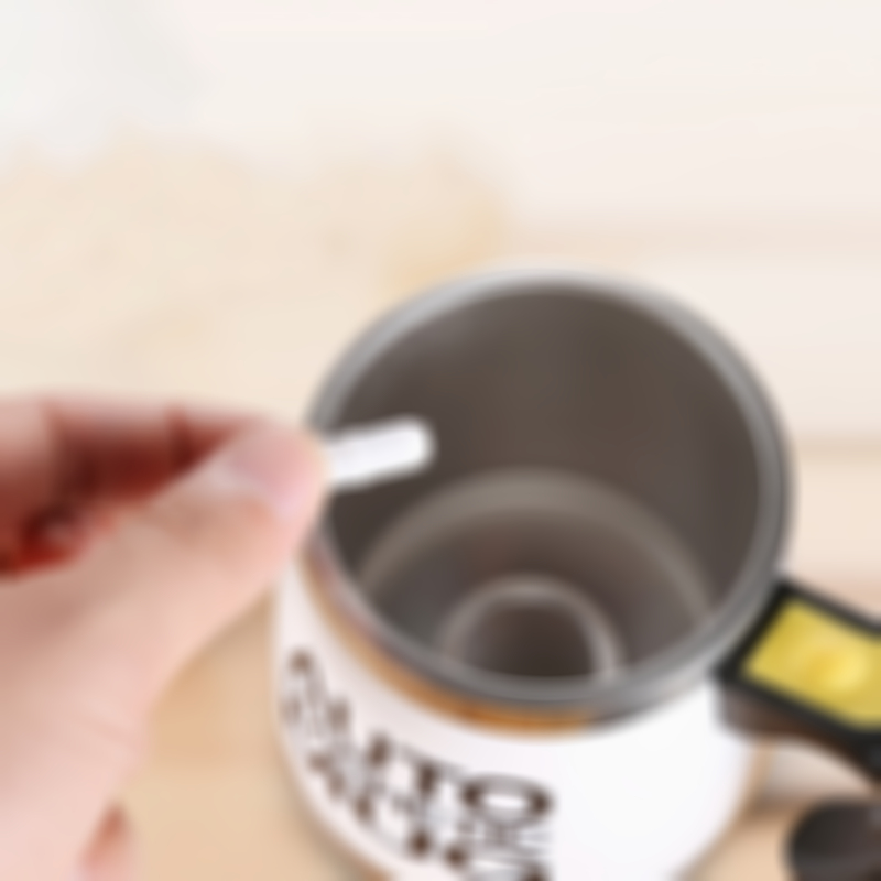 Lazy coffee automatic mixing cup