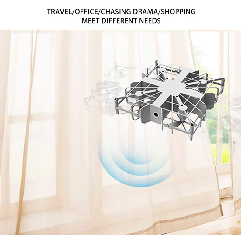 Mini Drone, High-Definition Aerial Photography Drone Fan Power Bank Three-in-One Handheld Fan Drone Electric Remote Control Aircraft