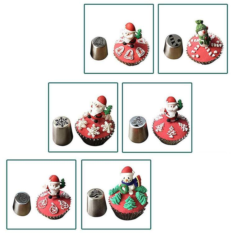 Christmas Cookie Nozzles Kit
